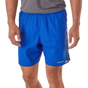 """Patagonia Strider - Shorts Homme - 7"""" bleu"""